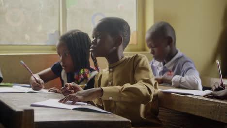 Young-African-Schoolchildren-in-Class