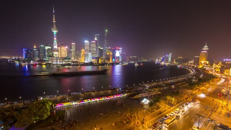 Shanghai-at-Night-Timelapse