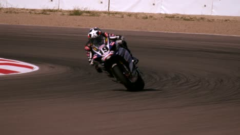 Motorcycle-on-Race-Circuit
