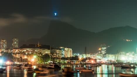 Rio-Coastline-Evening-Timelapse