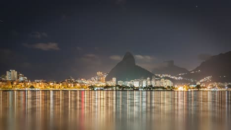 Rio-Coastline-Night-Timelapse