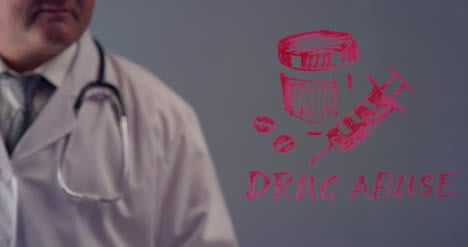 Doctor-Writing-Term-Drug-Abuse