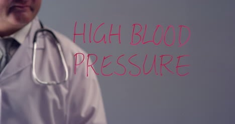 Doctor-Writing-Term-High-Blood-Pressure