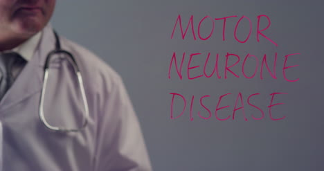 Doctor-Writing-the-Term-Motor-Neurone-Disease