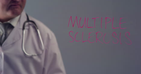 Doctor-Writing-the-Term-Multiple-Sclerosis