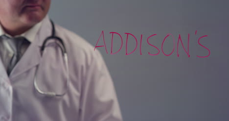 Doctor-Writing-the-Word-Addison-s