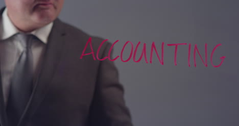 Businessman-Writing-the-Word-Accounting