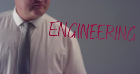 Man-Writing-Word-Engineering-