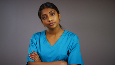 Young-Female-Doctor-Looking-at-Camera