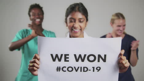 Young-Doctors-Celebrate-End-of-Covid-19