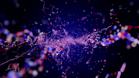 3D-Red-White-Blue-Particles-4th-July-Motion-Graphic
