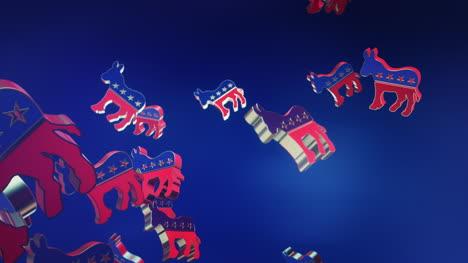 Logotipo-De-Demócrata-Animado-En-3D-Rain-Us-Motion-Graphic