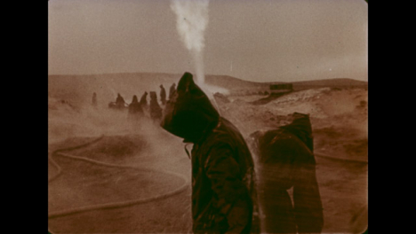 1966-Disinfecting-Workers-During-Gas-Well-Fire-Extinguishing
