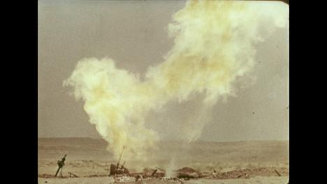 1966-Gas-Well-Fire-Burning-In-Uzbekistan-Gas-Field