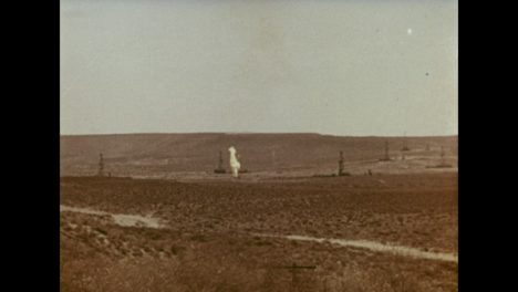 1966-3-Year-Old-Gas-Well-Fire-Burning-In-a-Uzbekistan-Gas-Field-