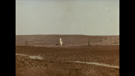 1966-Incendio-De-Pozo-De-Gas-De-3-Años-En-Un-Campo-De-Gas-De-Uzbekistán