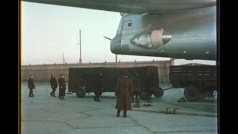 Cargo-Being-Loaded-On-TU-16-Soviet-Plane