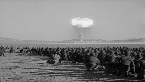1950er-Erster-Amerikanischer-Nuklearer-Ãœbungstest