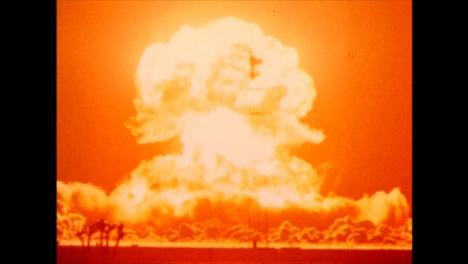 1953-Atomic-Bomb-Detonation-in-the-American-Nevada-Desert