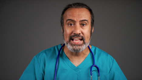 Annoyed-Middle-Aged-Doctor-Shouting-Portrait
