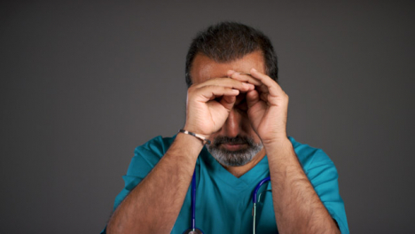 Frustrated-Middle-Aged-Doctor-Portrait