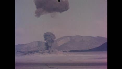 1955-American-Atomic-Bomb-Test-During-Operation-Teapot-in-Nevada-Desert