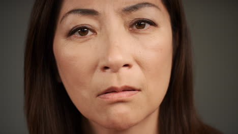 Middle-Aged-Woman-Visibly-Sad-and-Worried-Portrait
