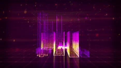 Animated-3D-Rotating-Digital-City-Purple-Motion-Graphic