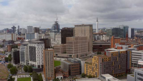 Drone-Shot-Orbiting-Over-Birmingham-City-Centre-02