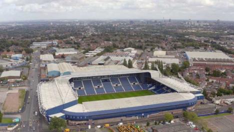 Drone-Shot-Orbiting-The-Hawthorns-Football-Stadium