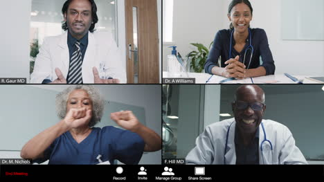 Young-Male-Doctor-Gives-Good-News-During-Video-Conference