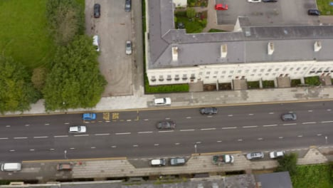 Drone-Shot-Tracking-Car-In-Liverpool