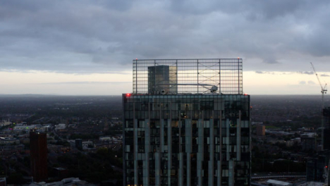 Drone-Shot-Rising-Up-Manchester-Skyscrapers-04