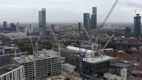 Drone-Shot-Orbiting-Construction-Cranes-06