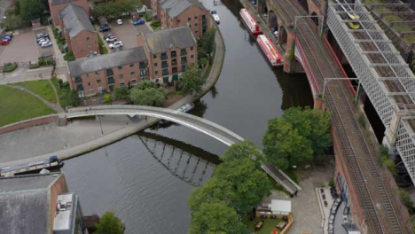 Overhead-Drone-Shot-Orbiting-Castlefield-Canals-01