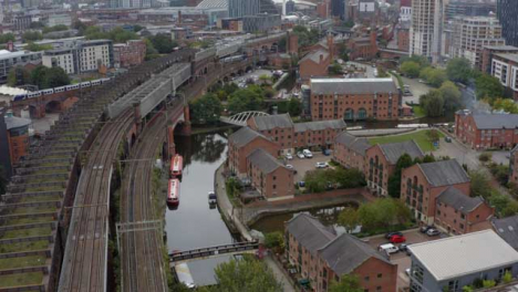 Drone-Shot-Panning-Across-Castlefield-Canals-01