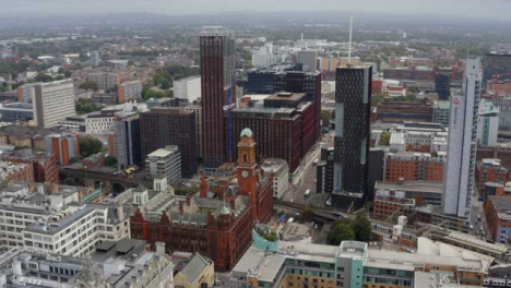 Drone-Shot-Orbiting-Manchester-Piccadilly-Station-01