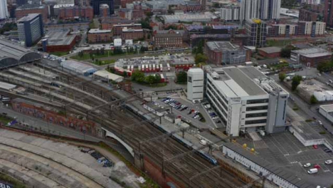 Drone-Shot-Tracking-Train-Near-Manchester-Piccadilly-Station-02