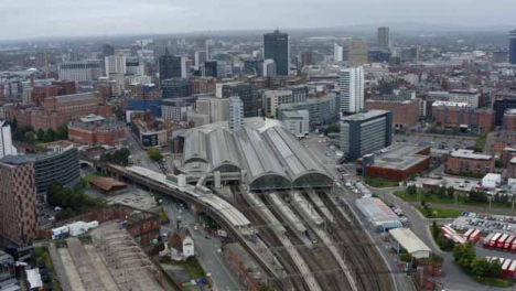 Drone-Shot-Panning-Across-Manchester-Piccadilly-Station