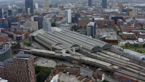 Drone-Shot-Orbiting-Manchester-Piccadilly-Station-03