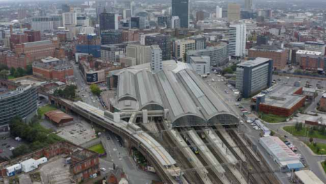 Drone-Shot-Orbiting-Manchester-Piccadilly-Station-04