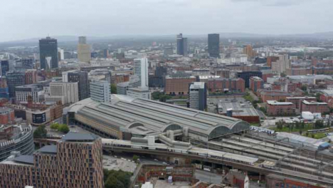 Drone-Shot-Orbiting-Manchester-Piccadilly-Station-05