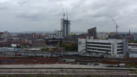 Drone-Shot-Tracking-Train-Near-Manchester-Piccadilly-Station-05