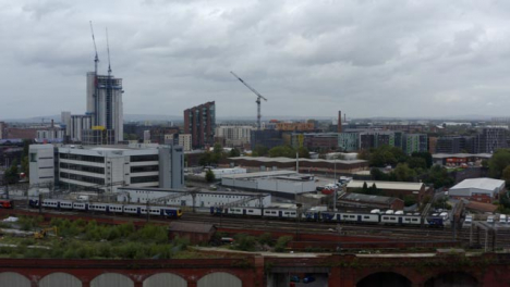 Drone-Shot-Tracking-Train-Near-Manchester-Piccadilly-Station-06