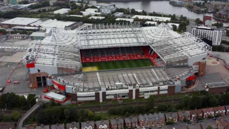 Drone-Shot-Pulling-Away-from-Old-Trafford-Stadium