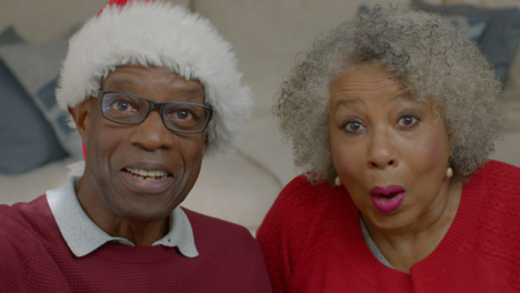 Older-Couple-Listening-During-Christmas-Video-Call