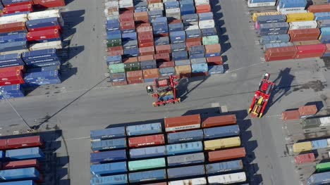 Drone-Shot-Tracking-Forklift-Truck-At-Liverpool-Port-01