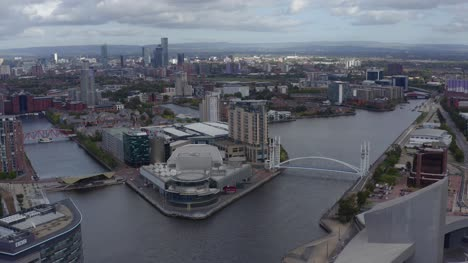 Drone-Shot-Approaching-Salford-Quays