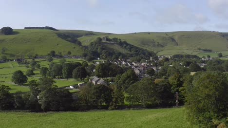 Drone-Shot-Pulling-Away-from-Castleton-06