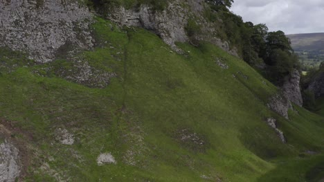 Drone-Shot-Rising-Above-Peveril-Castle-07